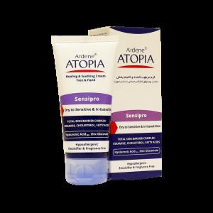 کرم مرطوب کننده و التیام بخش دست و صورت آتوپیا آردن مناسب پوست های خشک و حساس ۵۰ میلی لیتر