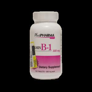 قرص ویتامین B1 300 میلی گرم پلاس فارما