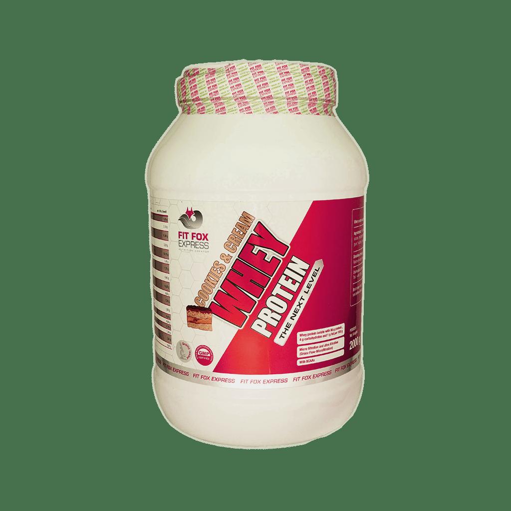 پودر پروتئین وی فیت فاکس