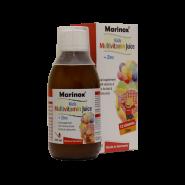 شربت مولتی ویتامین + زینک کودکان مارینوکس