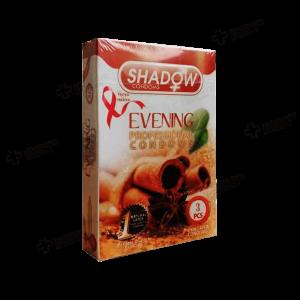 کاندوم شادو مدلEvening  بسته 3 عددی