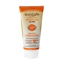 ضد آفتاب SPF50 فاقد چربی سان سیف