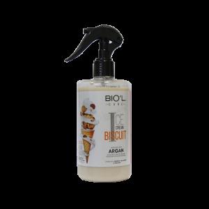 لوسیون مو بستنی بیسکویتی بیول بدون آبکشی 400 میلی لیتر