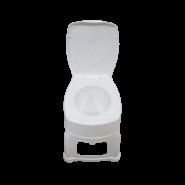 توالت فرنگی پلاستیکی سرو پیکر توس