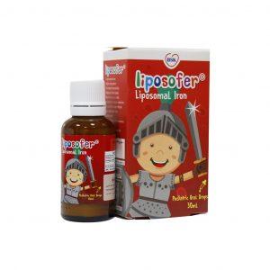 قطره خوراکی آهن لیپوزومال (لیپوزوفر) بنیان سلامت کسری 30 میلی لیتر