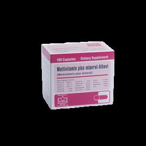 کپسول مولتی ویتامین مینرال الحاوی 100 عدد