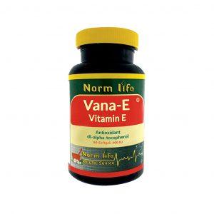 کپسول نرم ویتامین ای نرم لایف 60 عدد