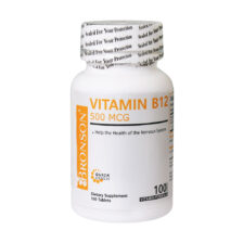 قرص ویتامین B12 برونسون