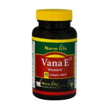 کپسول نرم ویتامین E نورم لایف