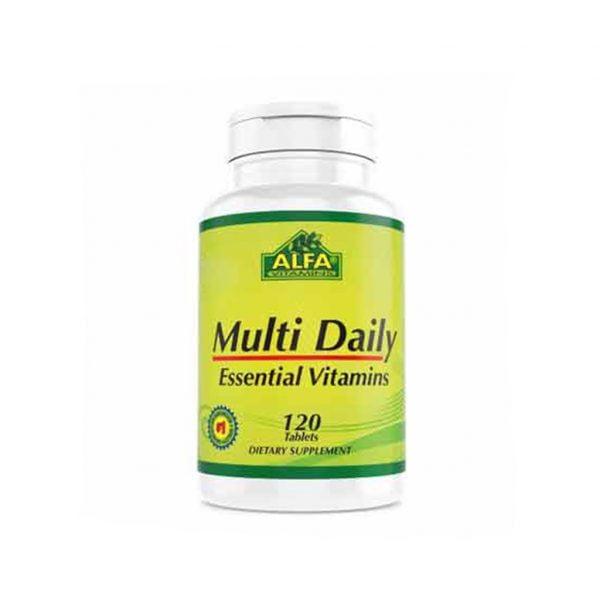 کپسول مولتی دیلی آلفا ویتامینز 120 عدد