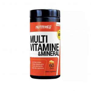 قرص مولتی ویتامین مینرال نوتریمد 60 عدد