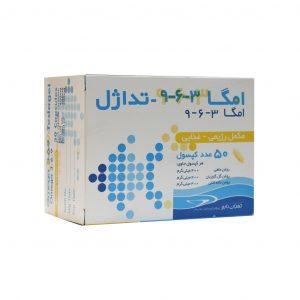 کپسول امگا 3-6-9 تداژل تهران دارو 50 عدد