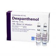 آمپول بپانتن دکسپانتنول 2 میلی لیتری داروپخش 5 عدد
