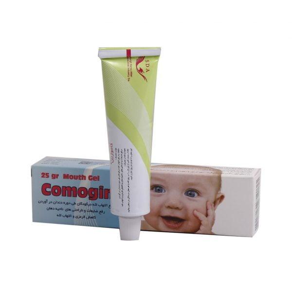 ژل دهانی کاموژین سیمرغ دارو عطار 25 گرم