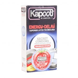 کاندوم انرژی زا و تاخیری کاپوت