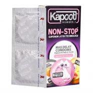 کاندوم تاخیری حلقوی نان استاپ کاپوت