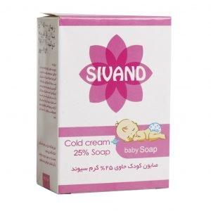 صابون کودک حاوی 25% کرم سیوند 90 گرم