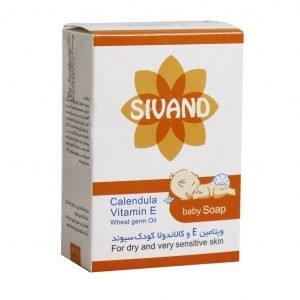 صابون بچه سیوند حاوی ویتامین E و کالاندولا ۹۰ گرم
