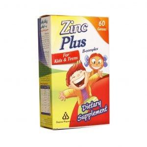 کپسول زینک پلاس ب-کمپلکس مناسب کودکان و نوجوانان دانا ۶۰ عدد