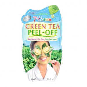 ماسک لایه ای چای سبز مونته ژنه سری 7th Heaven حجم 10 میلی لیتر