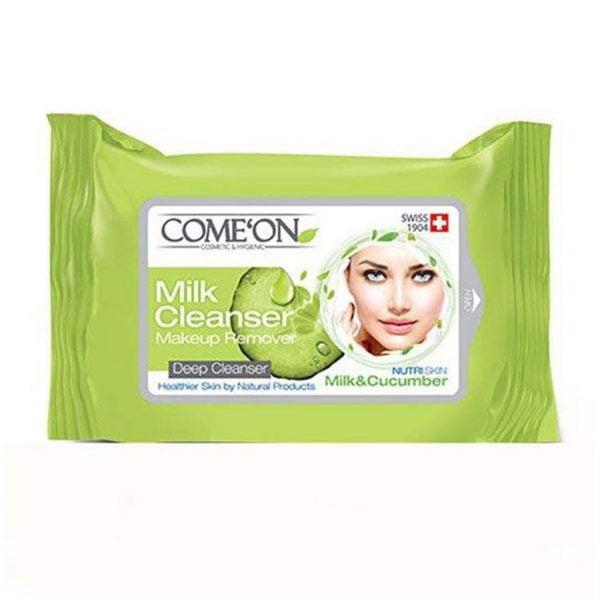 دستمال مرطوب پاک کننده آرایش کامان