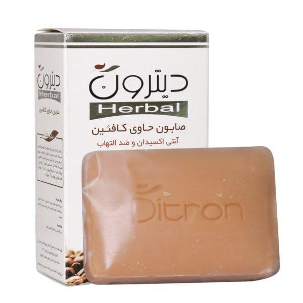 صابون حاوی کافئین دیترون 110 گرم