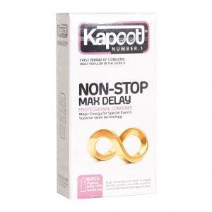 کاندوم کاپوت مدل Non Stop Max Delay 10 عدد