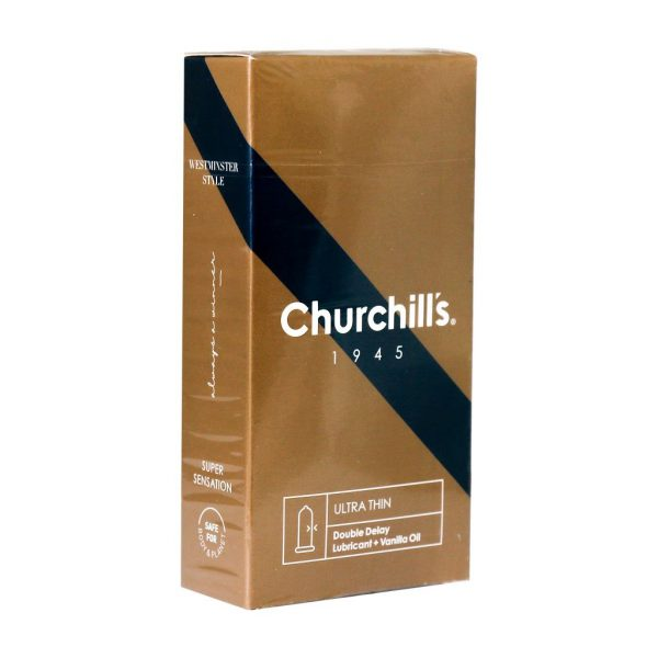 کاندوم فوق العاده نازک چرچیلز حاوی ماده تاخیری
