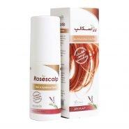 محلول رزماری رزاسکالپ ایران داروک ضد ریزش مو و ابرو 60 میلی لیتر