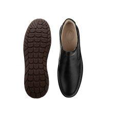 کفش طبی مردانه کلارک چرمی شهرام طب