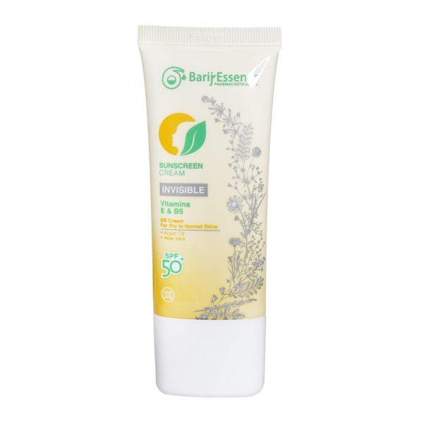 کرم ضد آفتاب SPF50 پوست خشک تا نرمال باریج اسانس