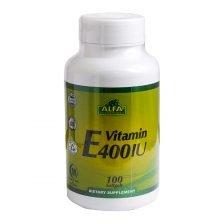 سافت ژل ویتامین E 400 آلفا ویتامینز