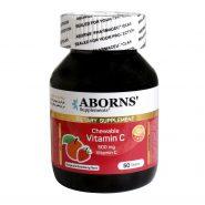 قرص جویدنی ویتامین C ابورنز