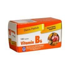 قرص ویتامین B6 دارو پخش