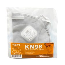 ماسک تنفسی فیلتر دار3M KN98 ان تی آر