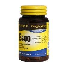 سافت ژل ویتامین E 400 یاس کویر میبد