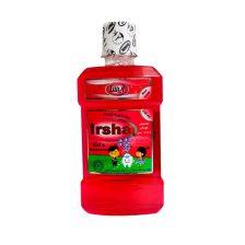 محلول دهانشویه کودک 6 تا 12 سال ایرشا با طعم توت فرنگی