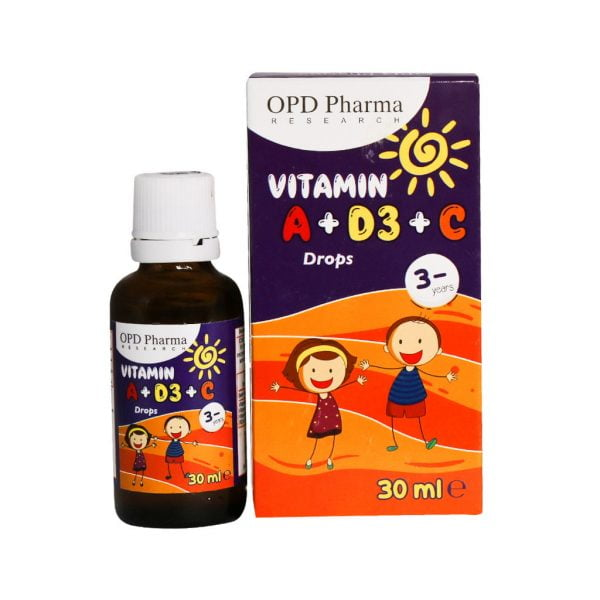 قطره ویتامین A + D3 و C او پی دی فارما
