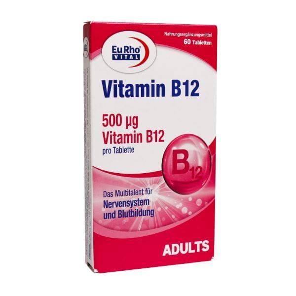 قرص ویتامین B12 یوروویتال