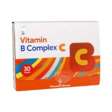 قرص ویتامین ب کمپلکس سی ویتامین هاوس