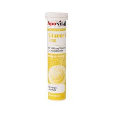 قرص جوشان ویتامین C 1000 میلی گرم آپوویتال