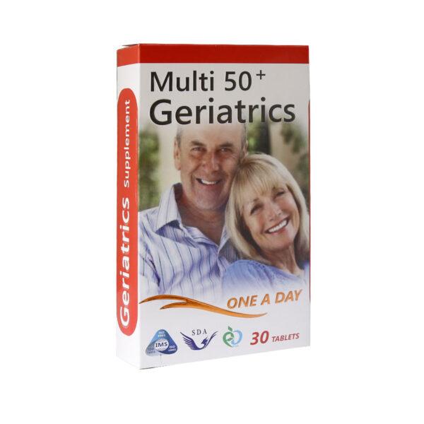 مولتی ویتامین بالای 50 سال ژریاتریک سیمرغ دارو